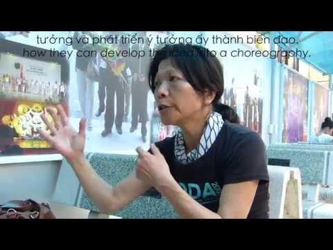 Workshop mit Takako Suzuki am Vietnam Dance College