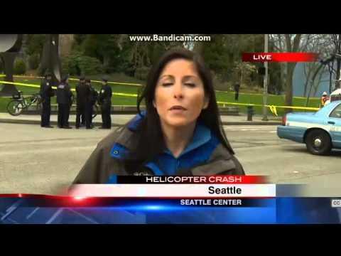 KOMO Helicopter Crash Coverage (Part 2)