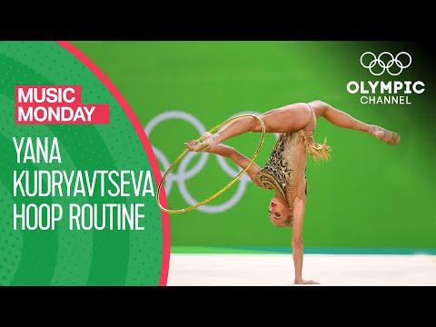 Yana Kudryavtseva's beautiful Hoop Performance at Rio 2016 | Music Monday