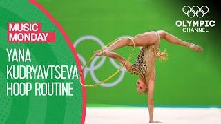 Yana Kudryavtseva's beautiful Hoop Performance at Rio 2016   Music Monday