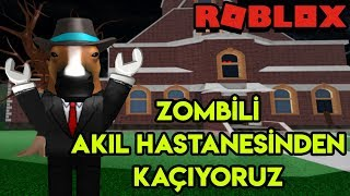 🧟 Zombili Akıl Hastanesinden Kaçıyoruz 🧟 | Escape The Zombie Asylum Obby | Roblox Türkçe