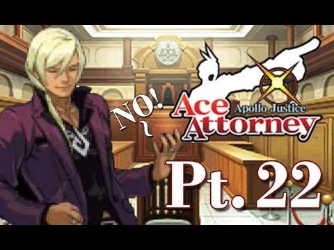 "Apollo Justice Let's Dub Pt 22: Air Guitar Says ""NO!"""