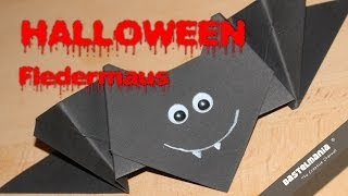 Origami Fledermaus / Halloween Vampir / Bat