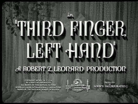 Third Finger, Left Hand - Feature Clip