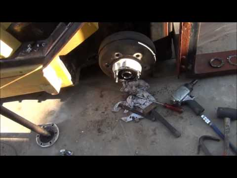 Brake Drum Puller - How to Remove Stuck Brake Drum!