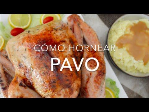 Pavo al horno c mo hornear un pavo jugoso recetas for Como cocinar un pavo