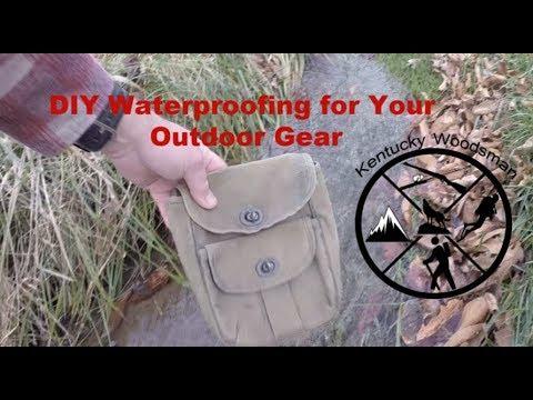 DIY Waterproofing for Your Outdoor Gear