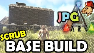 ARK Survival Evolved PS4 Let's Play #3 BASE BUILDING - Ark PS4 Gameplay