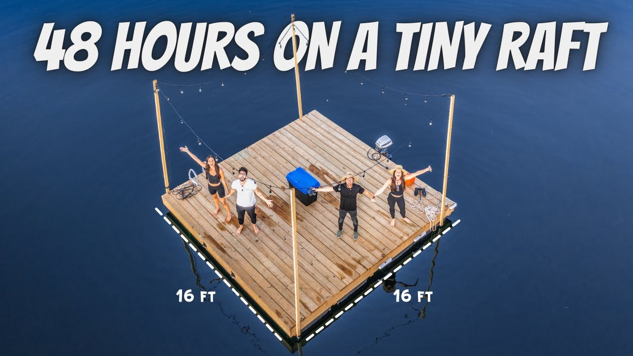 Download 48 HOURS LIVING ON A RAFT (ultimate friendship test with Eamon and Bec)