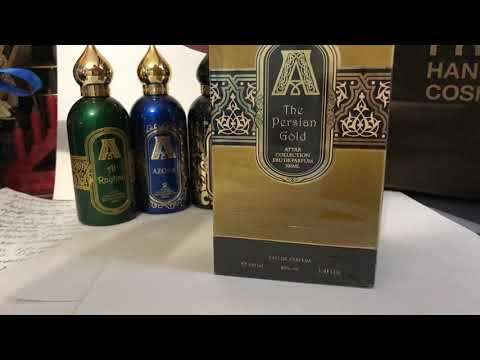 The Persian Gold Attar Collection распаковка