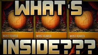 MOST FEARED PUMPKINS!! WHAT'S INSIDE THEM?? MADDEN MOBILE 18! NFL!