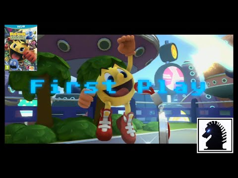 Wii U First Play - Pac-Man And The Ghostly Adventures 2