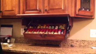 Drop Down Spice Rack doug123dd gmail.com