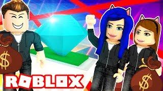 ROBBING A DIAMOND JEWELRY STORE IN ROBLOX!