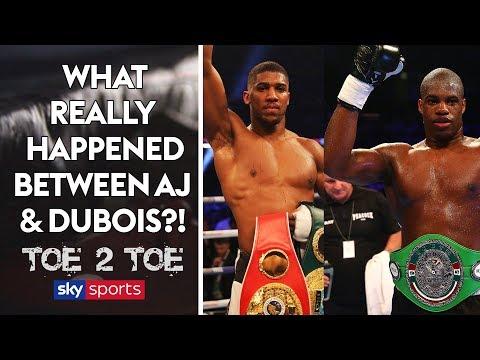 REVEALED: What really happened between Joshua & Dubois in sparring 👀 Toe 2 Toe  Frazer Clarke
