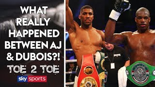 REVEALED: What really happened between Joshua & Dubois in sparring 👀| Toe 2 Toe | Frazer Clarke