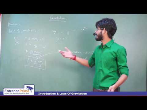 Laws of Gravitation By Harshal Ranawat Sir   IIT JEE Physics   EntrancePrime Kota