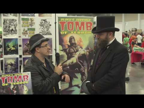Indie Corner TV: Episode 9 Jason Crawley WriterHost, Bloke's Terrible Tomb of Terror