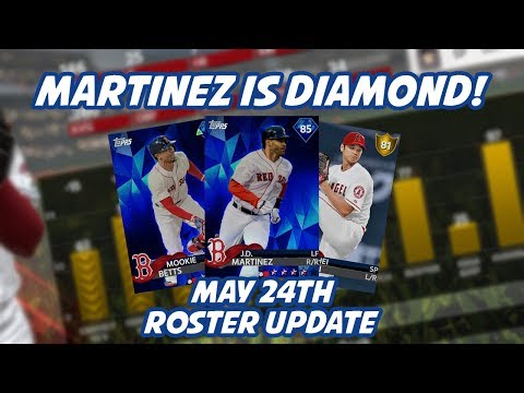 J.D. Martinez is Diamond! Shohei Ohtani is Gold! May 24th MLB The Show Roster Update!