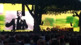 The Killers - This River Is Wild Brandon Flowers talking HD BST Hyde Park 9 July 2017
