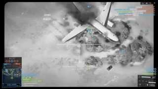 Battlefield 4 - AC-130 25 Killstreak