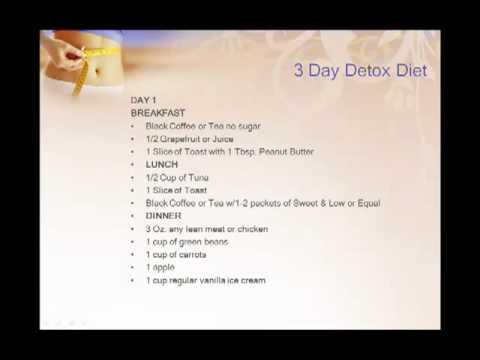 3 Day Detox Diet
