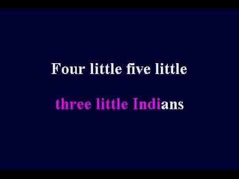 Ten Little Indians Childrens