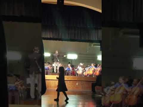 Walter c young middle school orchestra plays star wars