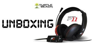 turtle beach p11 unboxing mic test ps3 pc mac