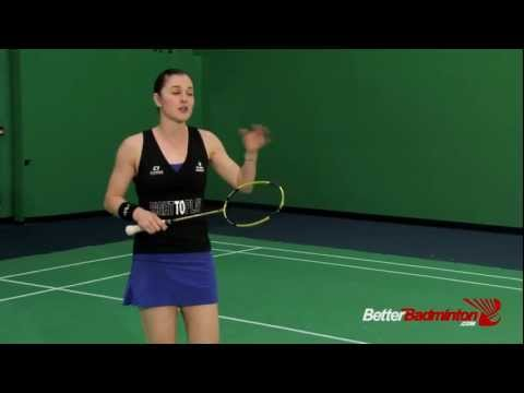 After a Smash, How To Return A Lift To The Cross Court - Better Badminton