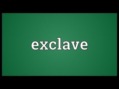 Exclave Meaning