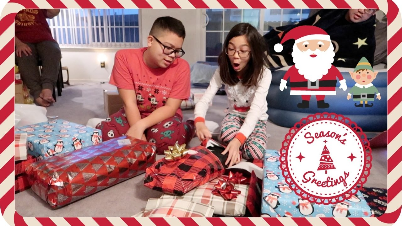 OPENING CHRISTMAS PRESENTS 2016! - December 25, 2016 - YouTube