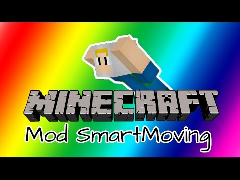 Minecraft Mod Showcase : Smart Moving - ท่าทางตัวละคร [พี่วิก]