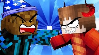 minecraft dragons vs wizards youtuber siege world 1 meet the teams