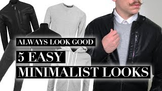 Men's Minimalist Style | How To Create Your Monochrome Wardrobe | Trend Tested ad