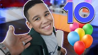 WE OFFICIALLY HAVE A 10 YEAR OLD!