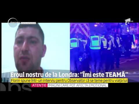 Florin Morariu, eroul din atentatul de la Londra, se teme pentru viaţa lui