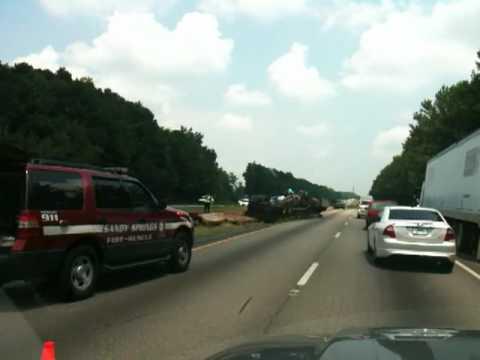 Fatality accident I-85 NB near Hamilton Mill Rd Buford, Georgia