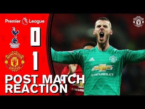 De Gea, Rashford, Lingard & Herrera reflect on Wembley win! | Spurs 0-1 Manchester United Mp3
