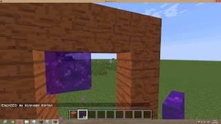 Как сделать портал в деревню в маинкрафте 1.7.5