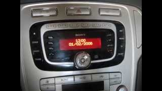 Ford Mondeo 4 Разблокировка магнитолы SONY (как корректно ввести  код)(, 2014-07-06T16:34:14.000Z)