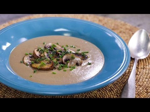 No-Cream, Creamy Wild Mushroom Soup