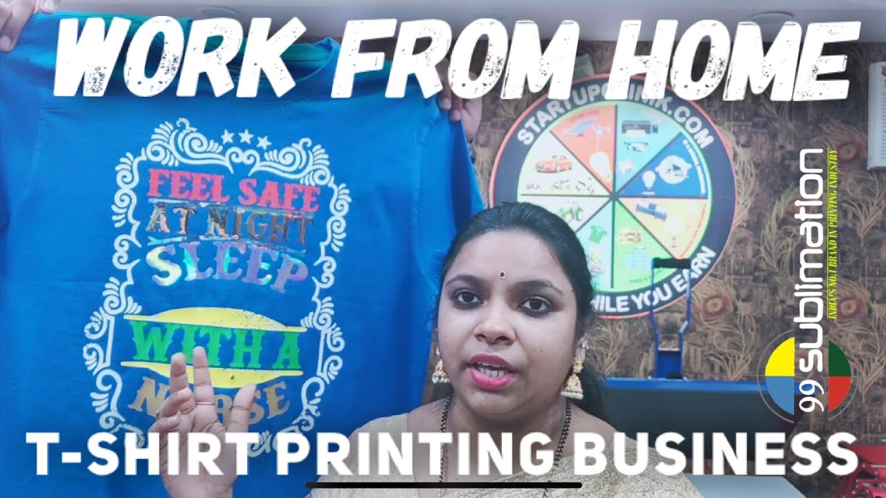 9625478571 | T Shirt Printing Machine Business Startup | टी शर्ट प्रिंटिंग मशीन | Work From Home