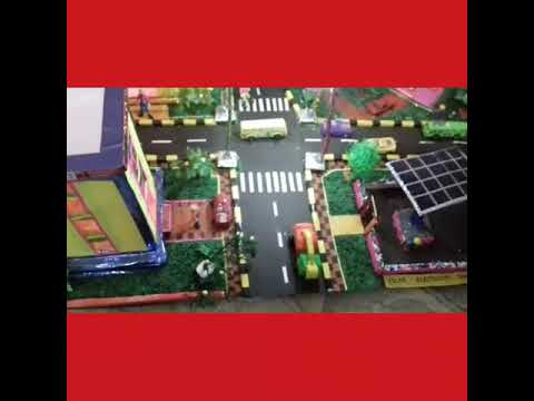 Solar city project model for. Students