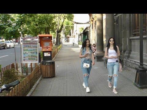 Ереван, 17.05.20,Su, 60-ый день ЧС, Северный пр., пл.Республики, Video-2.