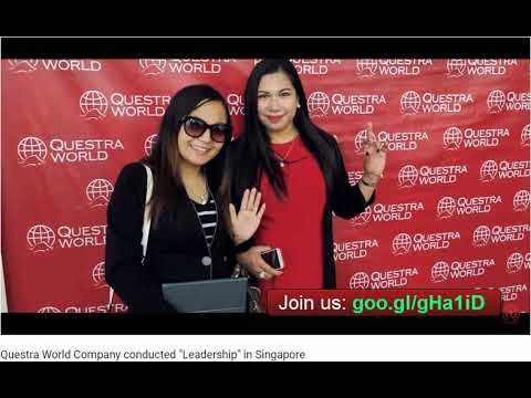 The Questra World Company held a program in Singapore