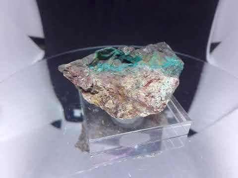 AM0375 Chalcopyrite Bornite And Chrysocolla Juanito Mine