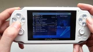 PAP Gameta II 64 bit Arcade Games Console Emulator Hardware GBA Sega MAME