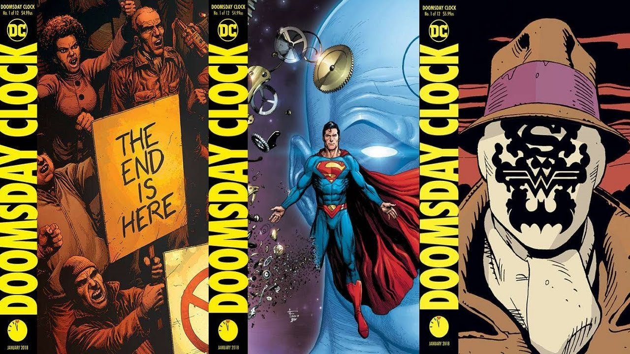 Dc Fans United Doomsday Clock 1 2018 Full Review Outright