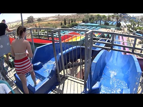 Extaza Water Slide with Lihot at Yamit 2000